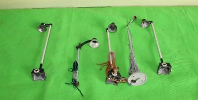 Marklin Trix Etc Railway Station /  Yard Lamps Oo  Gauge