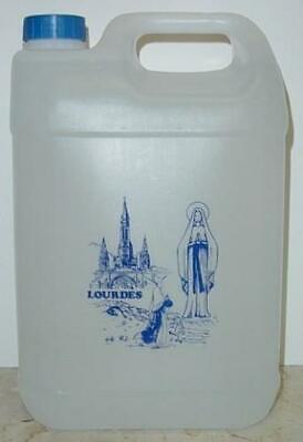 Lourdes Holy Water 1.3 Gallons (5 Liters) from Discount Catholic Store, Inc.