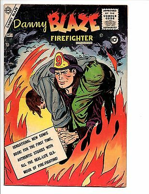 Danny Blaze #'s 1 and 2 obscure Charlton comic lot