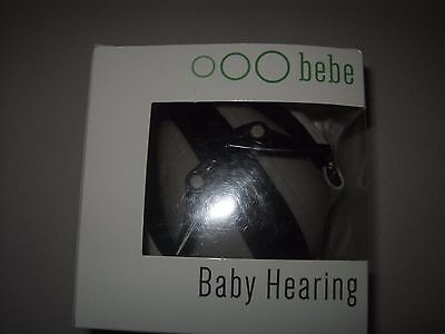 BEBE Muff Hearing Protection  Noise Reduction Ear Muffs, Silver, 3 months+