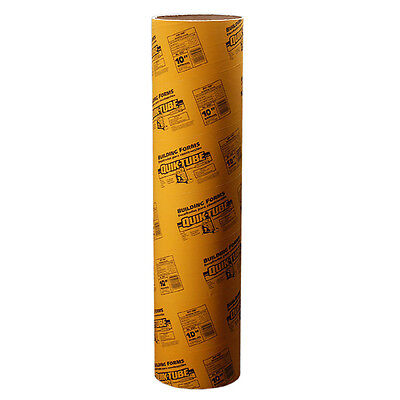 QUIKRETE 48-in Strongest Foundation Posts Hold Durable Concrete Tube Form, NEW!