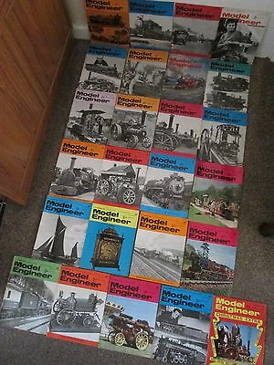 Model Engineer Vintage Hobby Magazine Collection Complete 1968 Job Lot 25 Issues