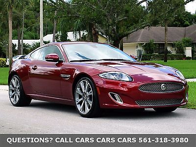 2013 Jaguar XK Portfolio Sport Coupe-Like 2014 2015 2016 XKR FLORIDA IMMACULATE 1-OWNER-NEW PIRELLI'S-ONLY 45000 MILES-ABSOLUTELY NONE NICER
