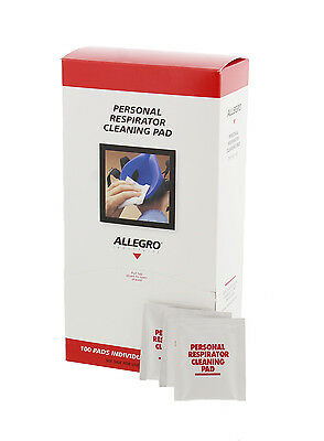 Allegro 1001 Respirator Cleaning Pads (100 Per Box)