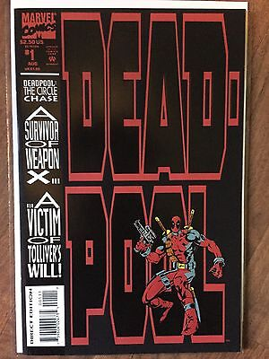 Deadpool Circle Chase 1-4 Complete 1st Solo Deadpool #1 9.8 #2 9.6 #3 9.2 #4 9.2