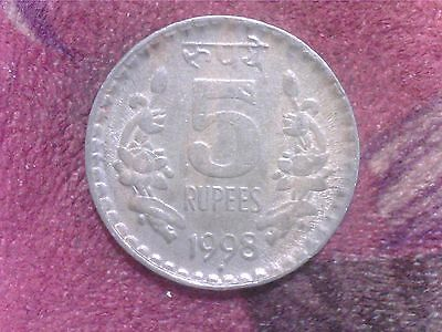 India   5   Rupees    1998  Fr