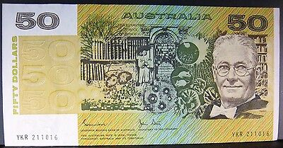 1983 Australia 50 Dollar CU Note(s) Available in Sequence **FREE U.S SHIPPING**