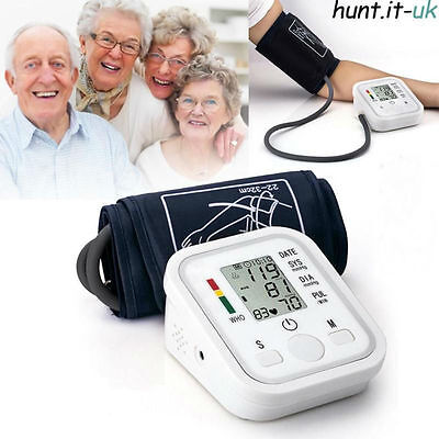 Upper Arm Cuff Blood Pressure Monitor Digital Automatic Professional FDA Approve