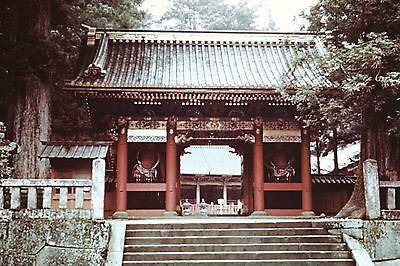 Nikko Toshogu Shrine Color Slide Set 1950s