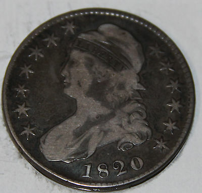 1820-P Capped Bust Half Dollar O-108 [SN01]