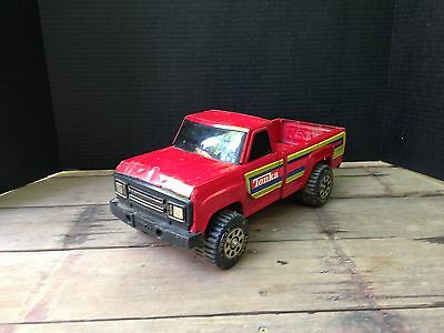 """Vintage Toy Tonka Red Pick Up Truck 14"""" x 6"""" Pressed Steel Made in USA #11062"""