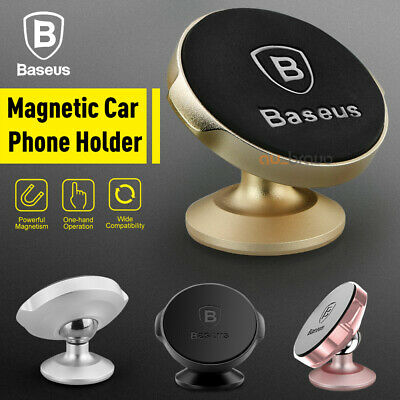 3X Universal Magnetic Ball Magnet Car Holder Mount GPS iPhone X 8 7 6 Samsung