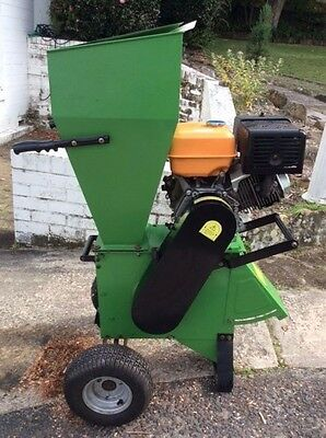 13 HP Heavy Duty Wood Chipper Garden Mulcher Shredder Chipper
