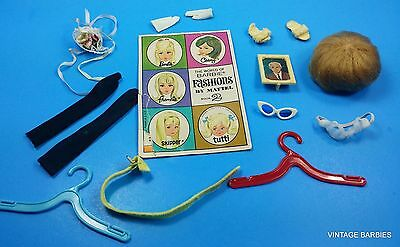 Barbie Doll Mixed Accessory Lot #1 ~ Vintage 1960's