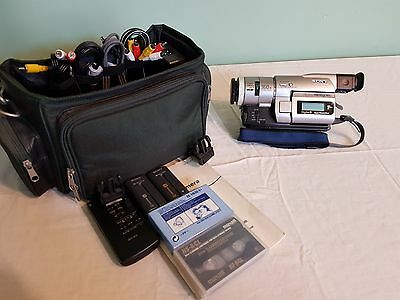 Sony DCR-TRV110E Camcorder with night-vision