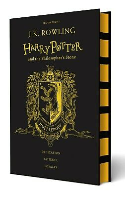 Harry Potter and the Philosopher's Stone - Hufflepuff Ed. By Rowling (Hardcover)