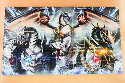 F1773+ FREE SHIPPING FREE MAT BAG Cyber Dragon Yugioh Playmat With Layout