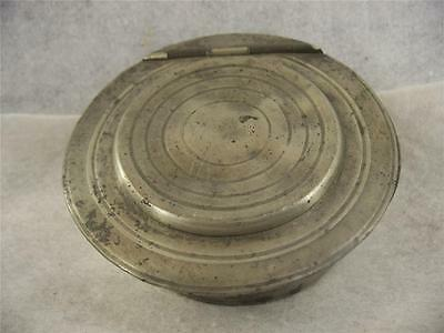 Antique American Pewter Signed Griswold Soap Dish