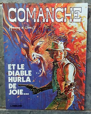 """French edition of """"Comanche"""" 1982 by Hermann & Greg"""
