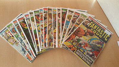 Fantastic Four #117 - #416 and Annual 7 - onwards King Size 2 onwards