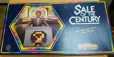 Sale of the Century vintage retro board game Tony Barbar