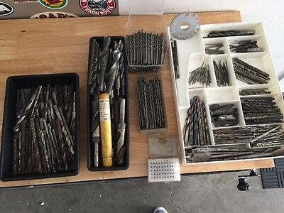 Huge Collection of 1100+ Drill Bits & Accessories - Ex Boeing Machine Engineer