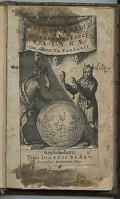 Satire - Giovenale - Thomas Farnaby - 1650