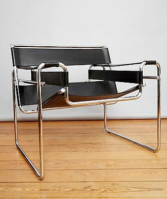 "Marcel Breuer Clubsessel B3 ""Wassily Chair"" für Gavina/Knoll International"