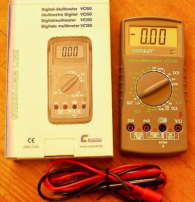 Digital-Multimeter Voltkraft  VC 150
