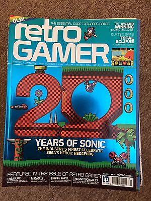 Retro Gamer Classic Magazine - Issue/Load 91  - Sonic the Hedgehog (20 years of)
