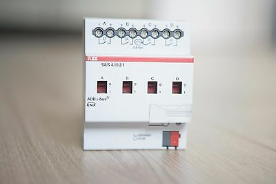 Switch actuator KNX ABB 4-ch SA/S 4.10.2.1