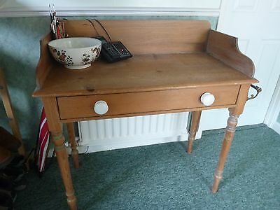 Vintage Pine Washstand Currently Used As A Hallway Table Gu16 Postcode