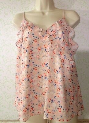 Topshop Maternity Top Shirt Blouse Floral Print Size 4 NWT $50 Ships Free