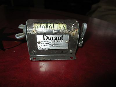 DURANT 5 DIGIT Industrial PRODUCT COUNTER 1:1 RATIO 5-D-11-R