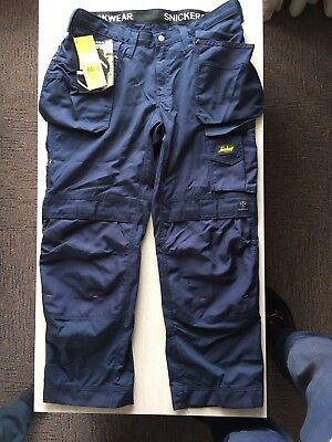 Snickers Work Trousers Size 096 BNWT, With 2 Front Pouches.