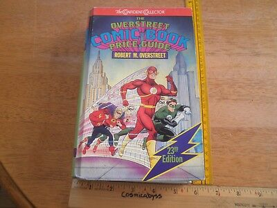 The Overstreet Comic Book Price Guide 23rd edition The Flash HC hardcover book