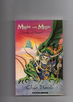 Might and Magic . Clouds of Xeen. Clue Book . Mail away hard to come by.
