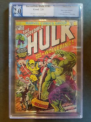 The Incredible Hulk #181 PGX 2.0 (Nov 1974, Marvel)