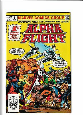 Alpha Flight #1 VF