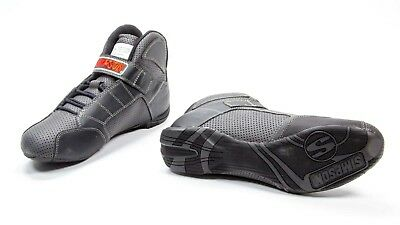 SIMPSON SAFETY Size 12 Black Red Line Driving Shoes P/N RL120K