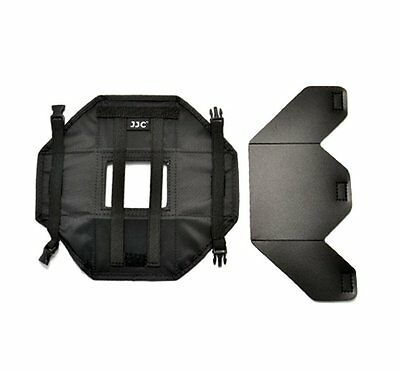 """JJCLCH-DV35 Universal LCD Hood for Collapsible 3.5"""" Screen Display Camera DSLR"""