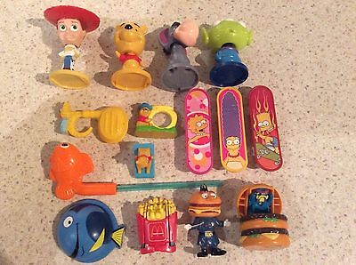 KELLOGGS CEREAL AND MC DONALDS  promotional toys
