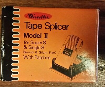 FILM splicer Super 8 and Single 8