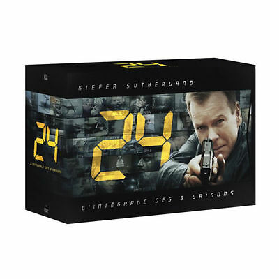 24: The Complete Series Seasons 1-8 (DVD, 2010, 55-Disc Set) 1 2 3 4 5 6 7 8