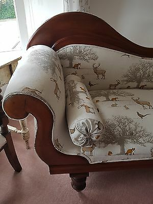 Antique chaise longue - restored and beautiful