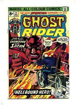 Ghost Rider #9 - Marvel 1974 - FN-