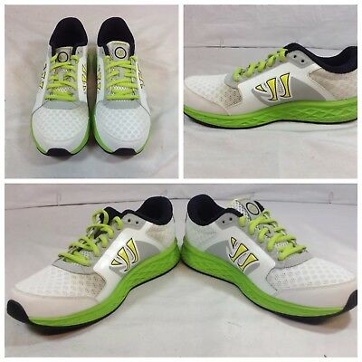 Warrior Dojo 2.0 Junior Shoes Size 4.5 M White & Green NWD (SK1419) IHH