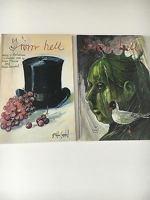 'From Hell' by Alan Moore & Eddie Campbell - Volumes One & Two - Graphic Novels