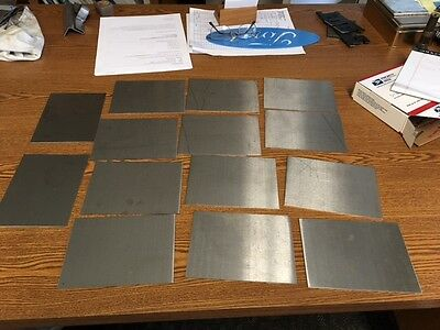 14 gauge Stainless steel sheet metal scrap  (Grade 304/316)  5 lbs (min)