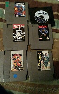 lot nintendo nes game cube us final fantasy megaman
